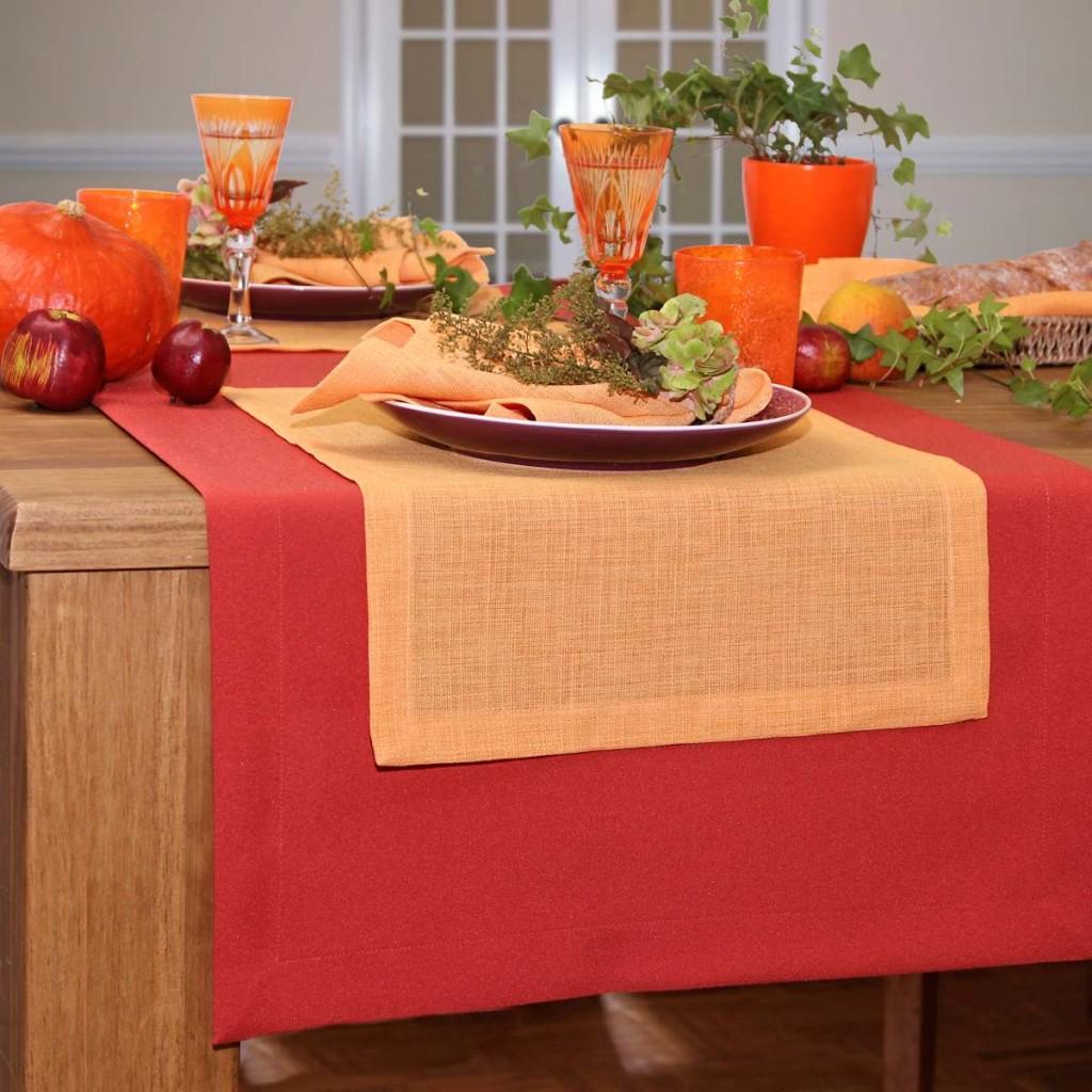 Tischläufer orange