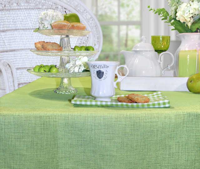 Sander Tischdecken grün