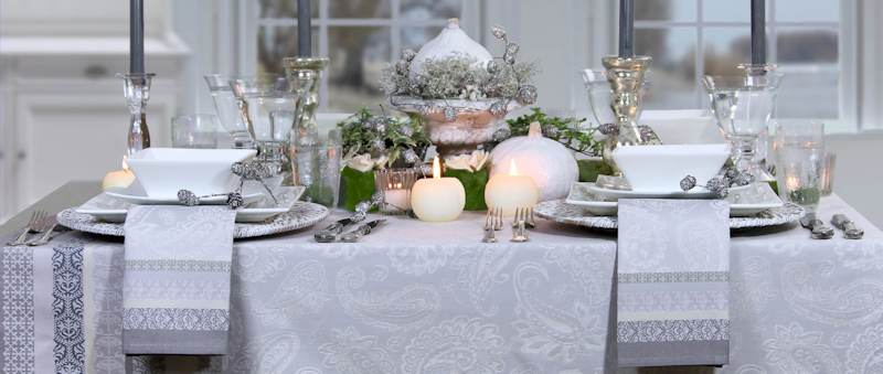 Tisch Festlich Decken Dekoration Bild Idee