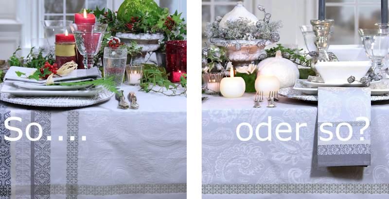 Zwei Unterschiedliche Tische