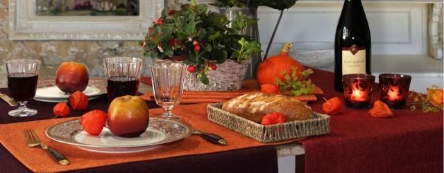 Tischdecken Herbst