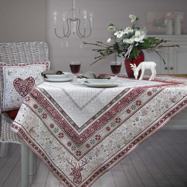 Richtig Tisch Decken: Weihnachtstischdecken