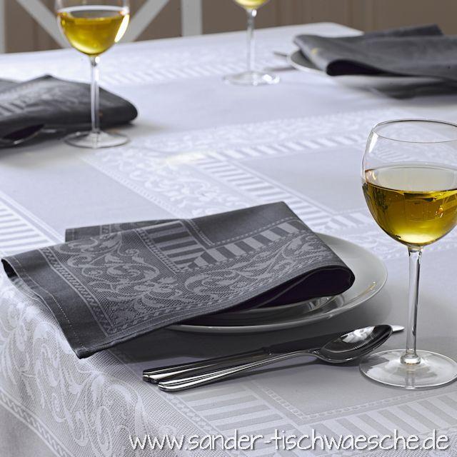 Tischtuch weiß
