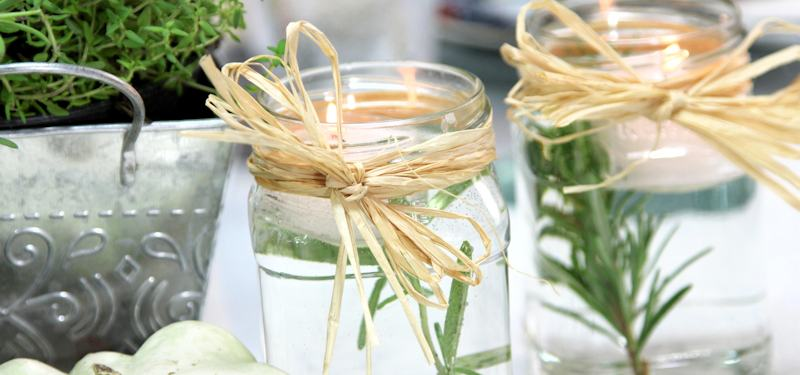 Tischdeko Diy Herbstliche Dekoration Mit Weckglasern