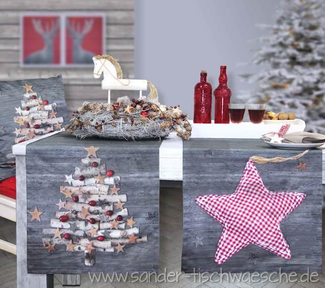 Tischwäsche zu Weihnachten - Trendkollektion 2015