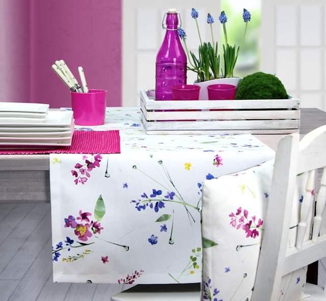 Fruejahr Tischdecke, Sommertischdecke, Ostertischdecke