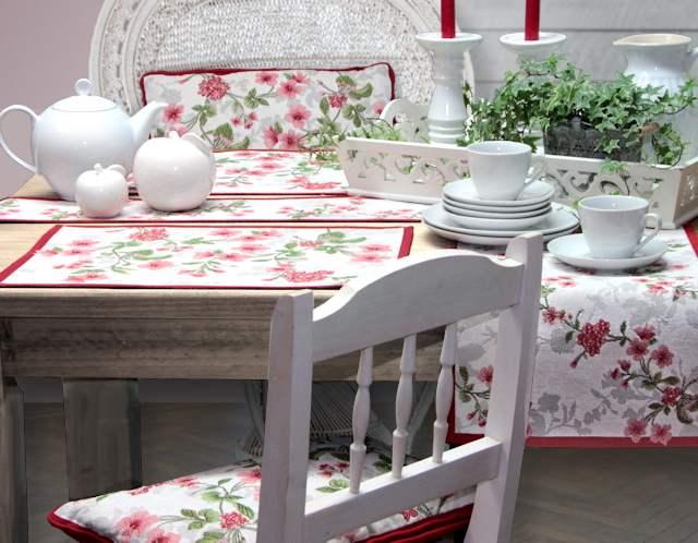 Tischsets und Tischläufer für Frühling und Sommer
