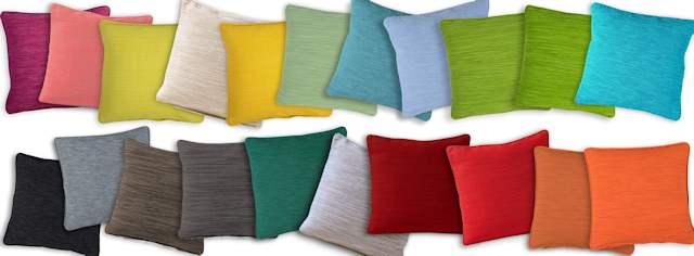 Sander Kissenhüllen viele Farben