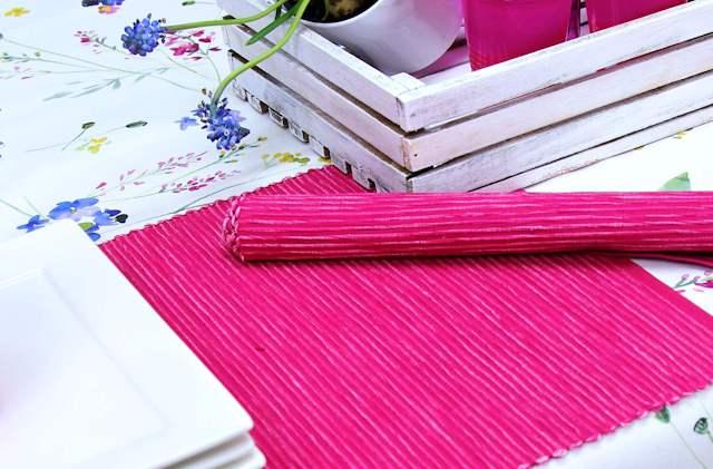 Platzsets pink