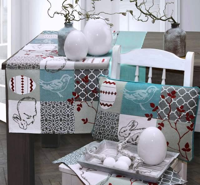 ostertisch tisch decken. Black Bedroom Furniture Sets. Home Design Ideas