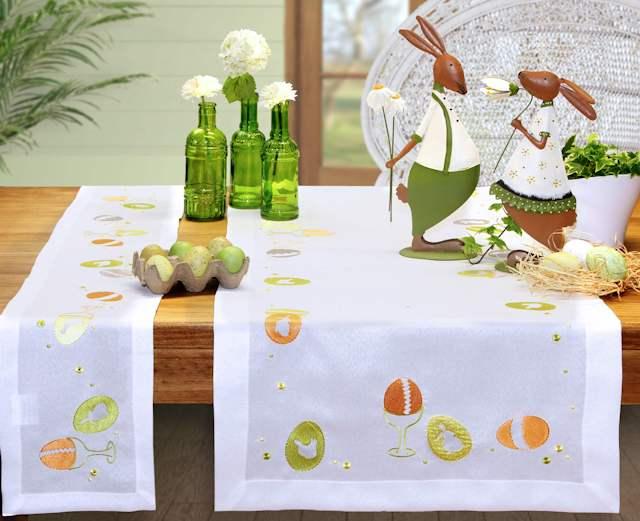 Tischläufer Ostern