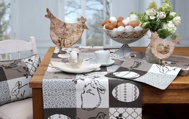 Tischläufer zu Ostern