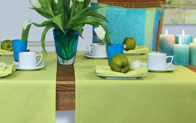 grüne Tischdecke von Sander