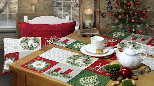 Weihnachtstischsets CHRISTMAS JOY