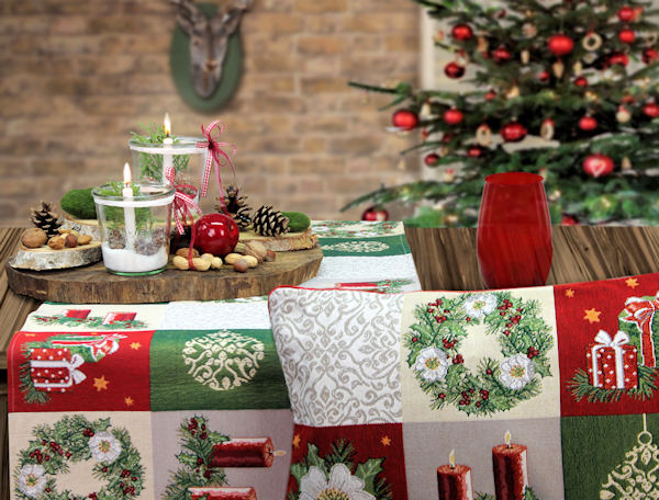 Sander tischdecke Weihnachten