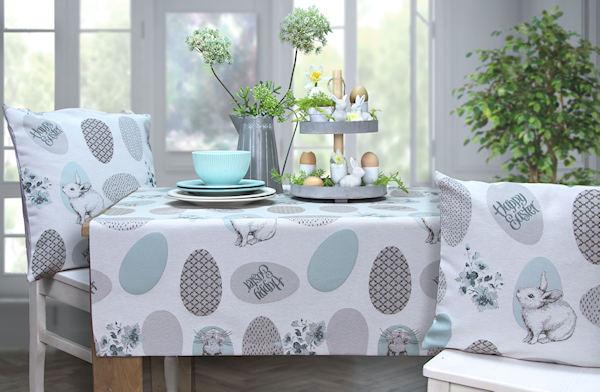 Tischdecke Ostern Hasen