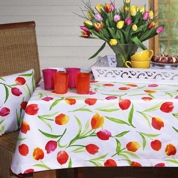 Tischdecken Tulpen