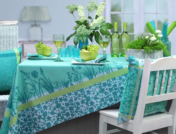 Tischdecken türkis