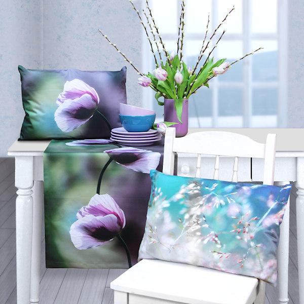 Tischläufer Tulpenmuster Fotodruck