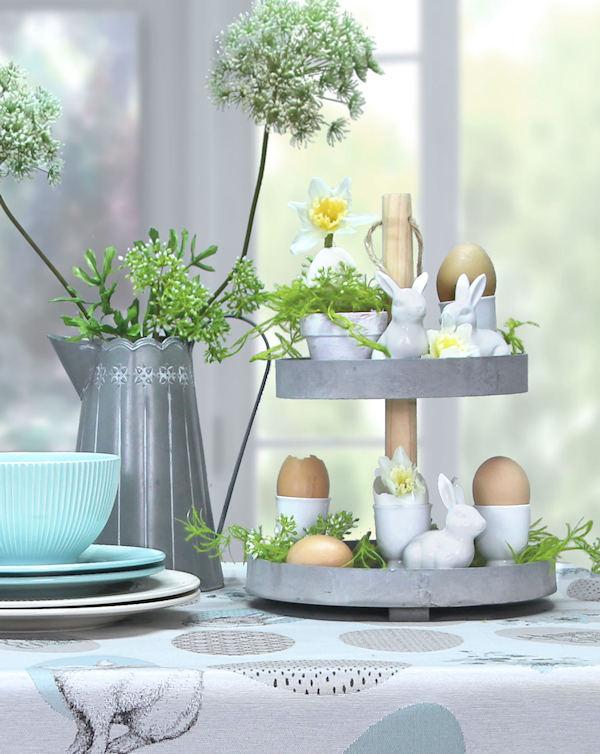 Ostertisch Tischdecke