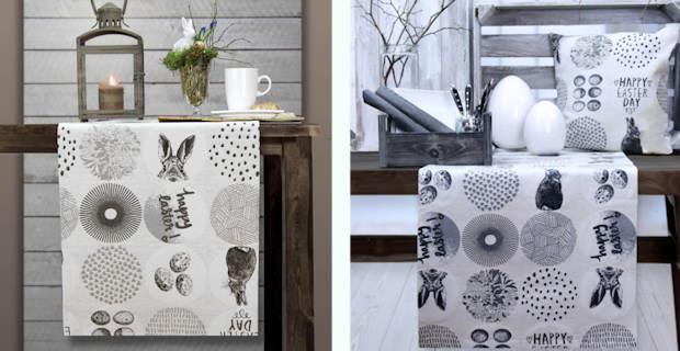 ostern tisch decken. Black Bedroom Furniture Sets. Home Design Ideas