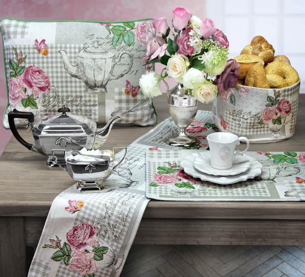 Gobelin Tischsets Rosen