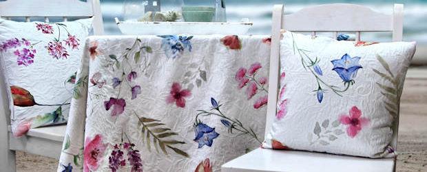 Tischdecken Blumenmuster