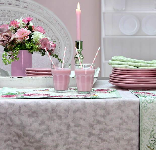 Tischdecke rosa von Sander