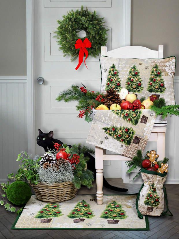 Weihnachten Dekoration, Weihnachten Fußmatte