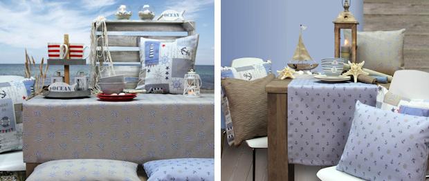 Maritime Tischdecken