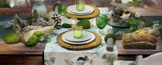 Tischläufer Herbstmotiv