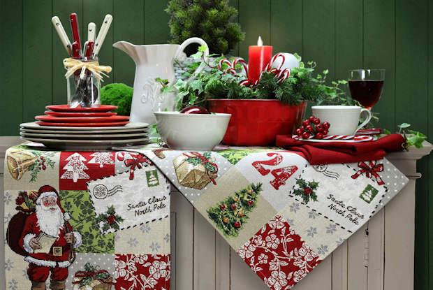 Gobelin Platzsets Weihnachten