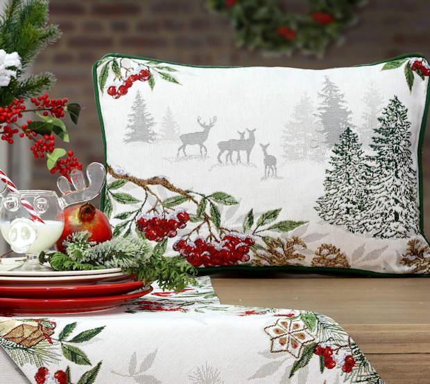Gobelin Kissen für Weihnachten