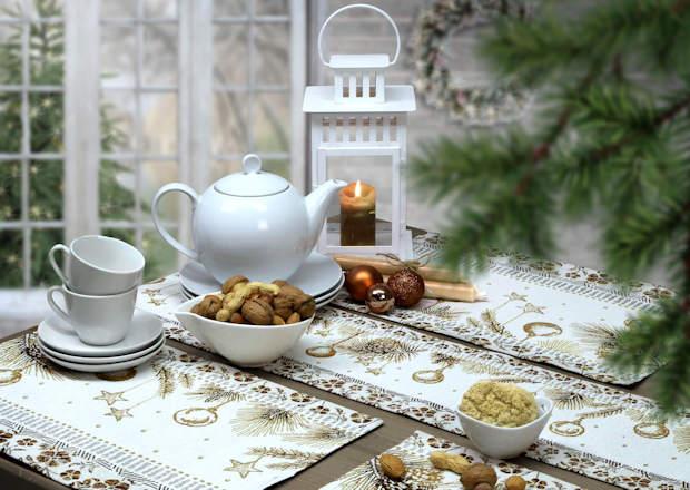 Tischsets und Tischläufer Weihnachten