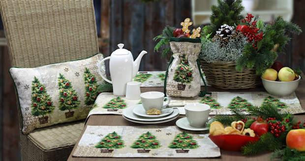 Tischwäsche für Weihnachten von sander