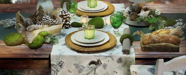 Tischläufer Weihnachtsmotiv