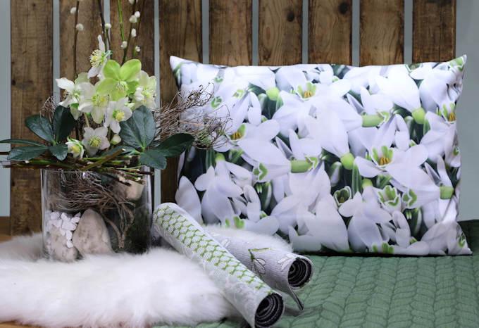 dekotipp im januar winterzauber mit schneegl ckchen. Black Bedroom Furniture Sets. Home Design Ideas