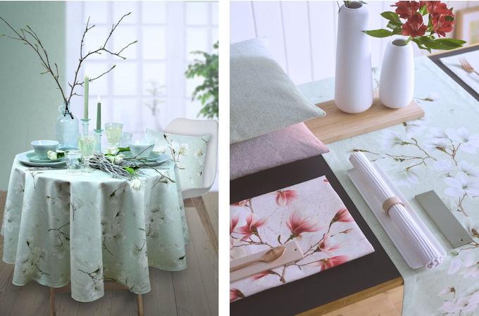 Tischdecken Frühling