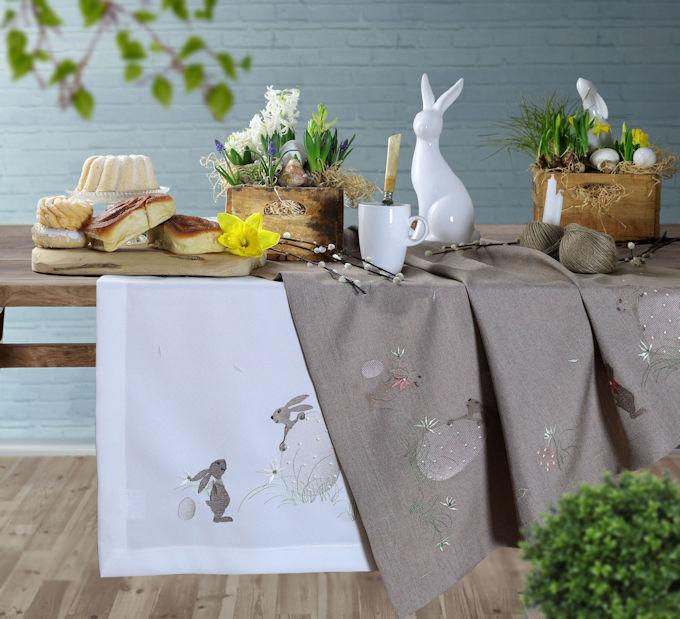 Tischdecken Tischläufer Ostern
