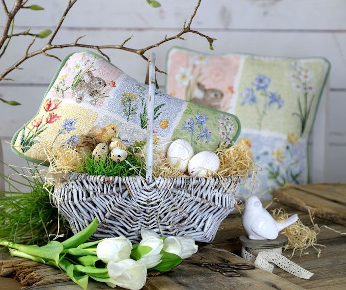 Gobelin Kissen Ostern