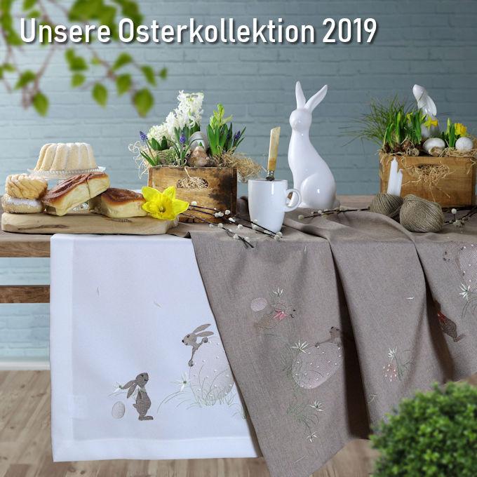 Tischwäsche für Ostern
