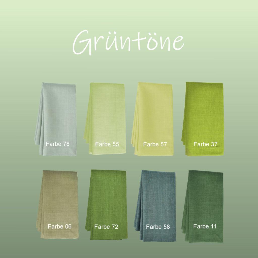 Tischdecken LOFT Grüntöne