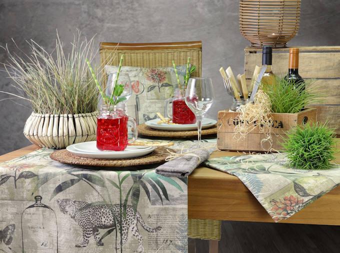 Tischläufer Dschungel