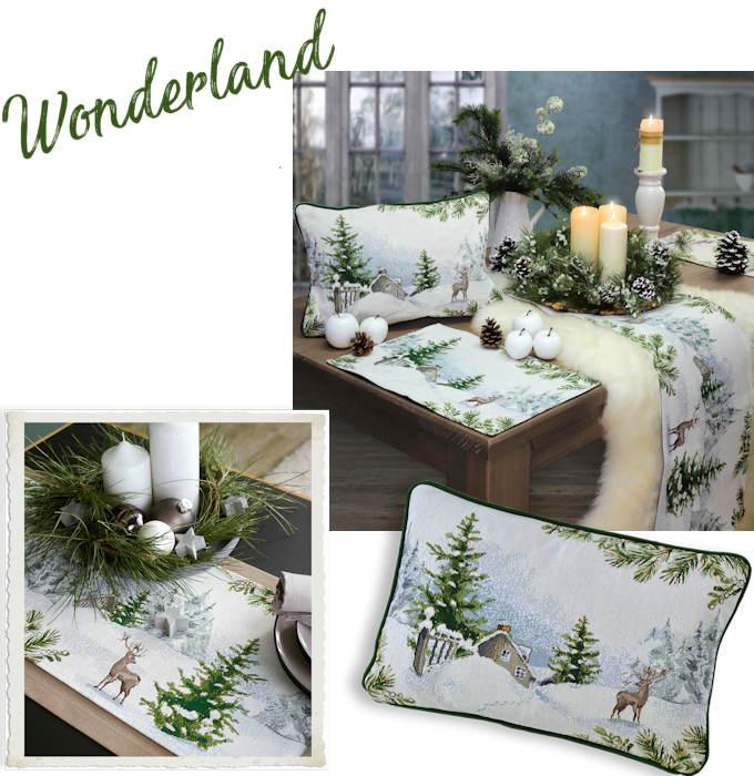 Sander Gobelin Weihnachten Wonderland