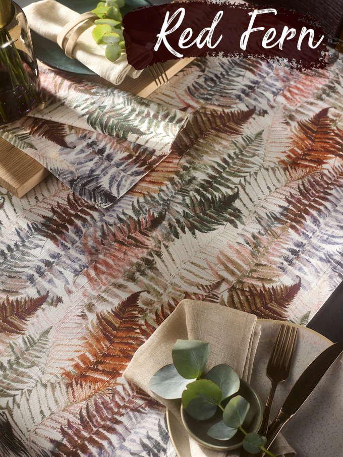 Tischdecke Herbstmuster