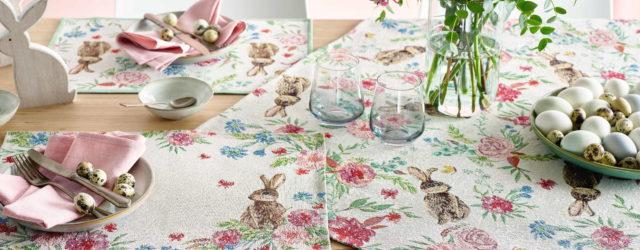 sander Tischwäsche ostern 2020 Tischdecken und Platzsets aus Gobelin
