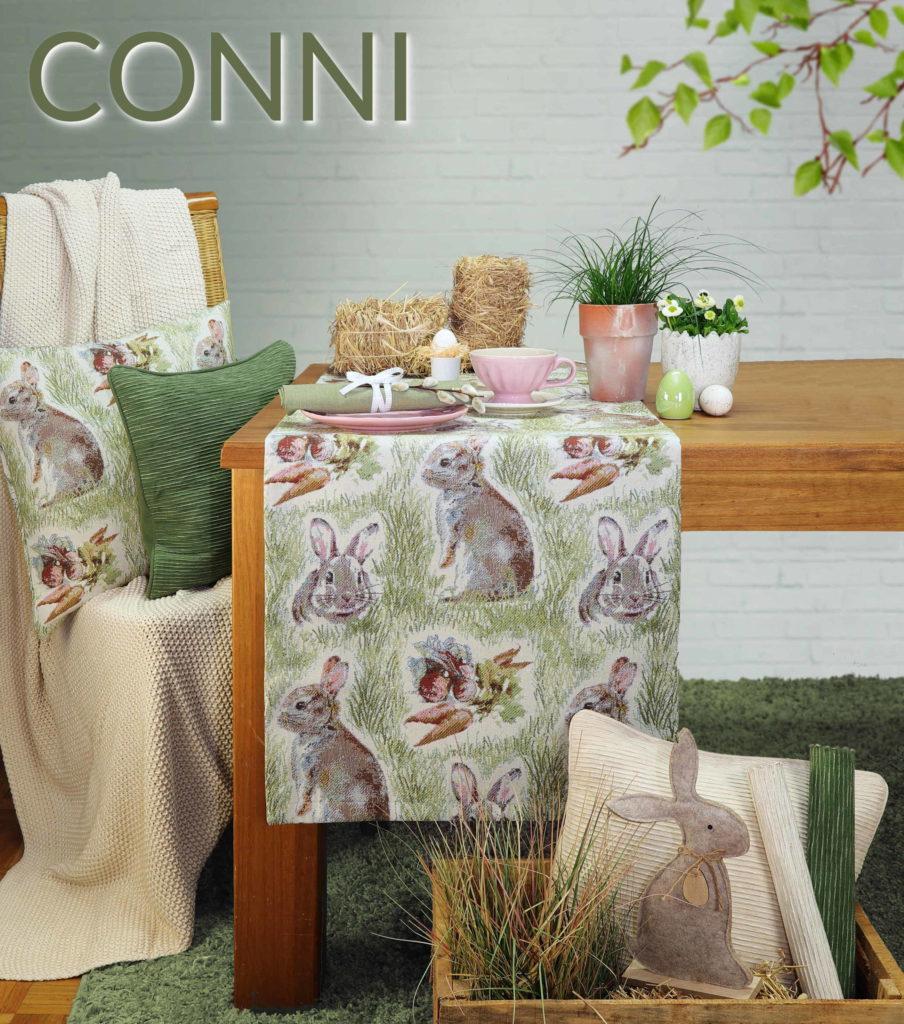 Tischläufer Ostern Hasen CONNI von Sander