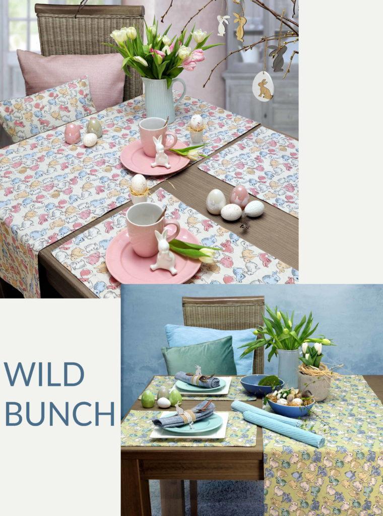 Tischdecke Ostern WILD BUNCH von Sander