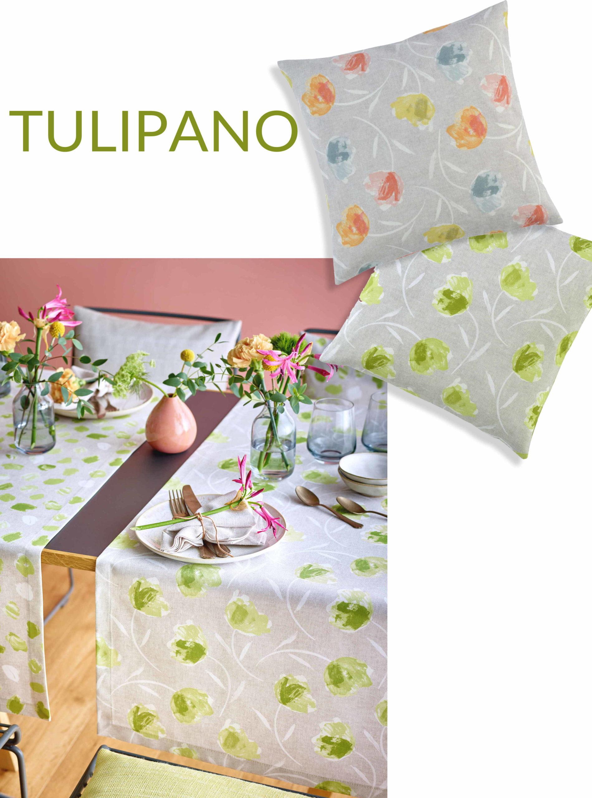 Sander Tischläufer TULIPANO Tulpen