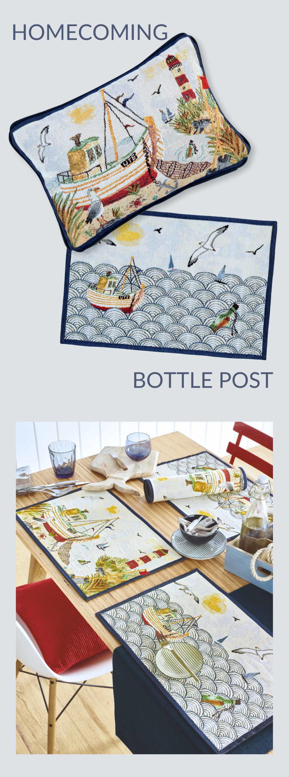 Maritime Tischläufer und Tischsets von Sander